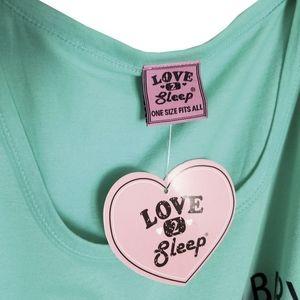 Love 2 Sleep Intimates & Sleepwear - 🆕Love 2 Sleep Melon Dollar Baby Nightshirt